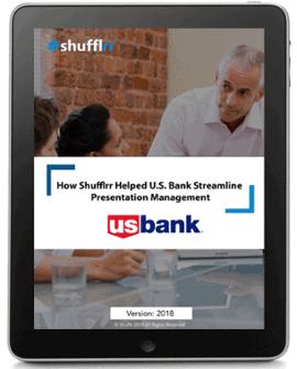 Shufflrr US Bank Case Study